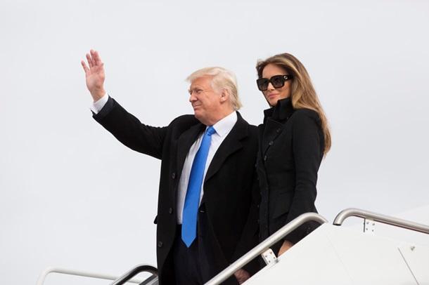 СМИ поведали опервом «инаугурационном» наряде Меланьи Трамп