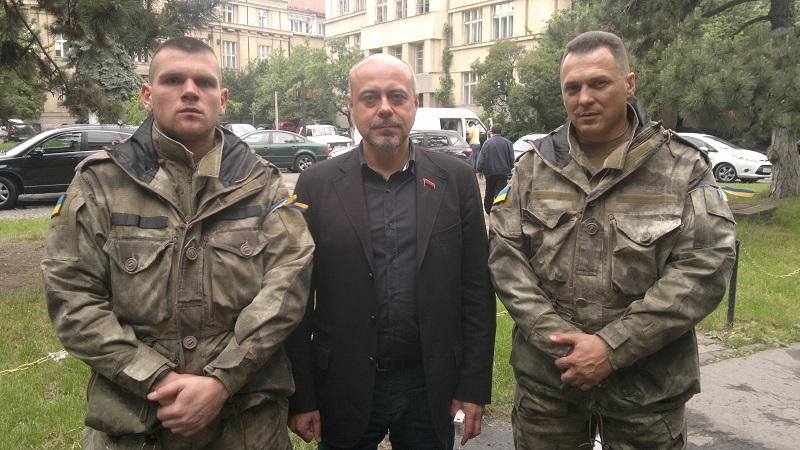 """Хто той """"Монах"""" з """"Народного фронту"""", який має """"вбити"""" Шухевича - фото 2"""