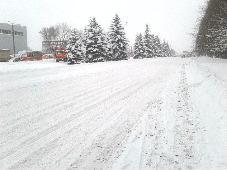 Полтава потерпає від снігопадів - фото 2