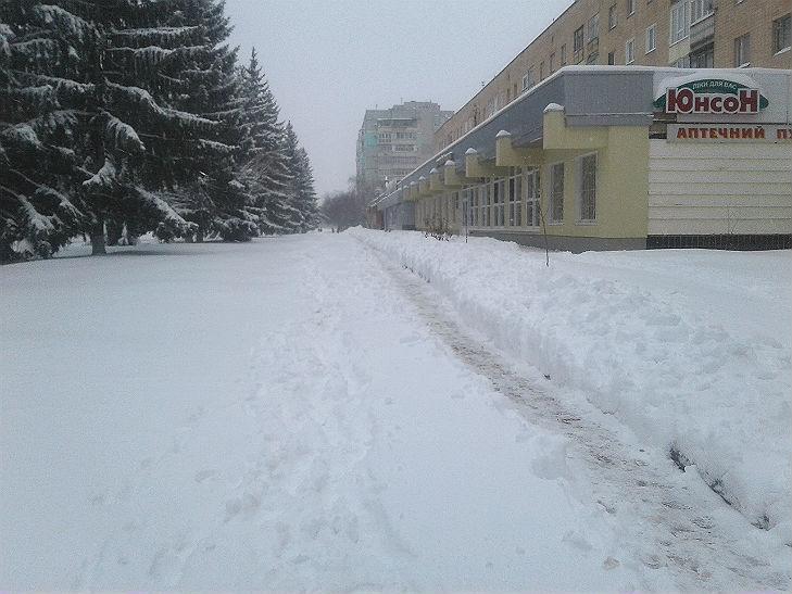 Полтава потерпає від снігопадів - фото 3