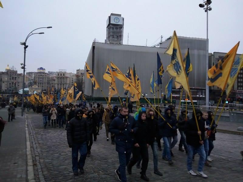 Третя річниця Майдану (ФОТОРЕПОРТАЖ) Оновлюється - фото 1