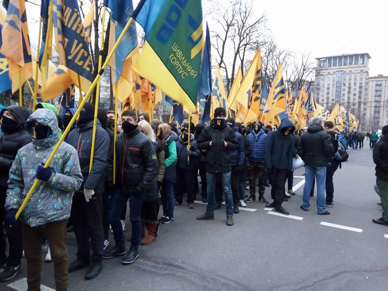 Третя річниця Майдану (ФОТОРЕПОРТАЖ) Оновлюється - фото 7