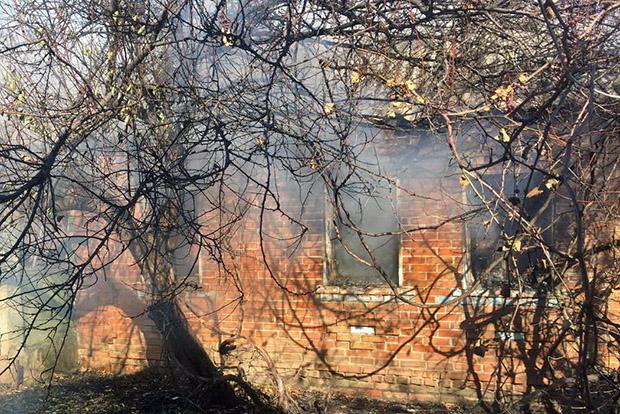 На Харківщині при пожежі загинула людина - фото 1