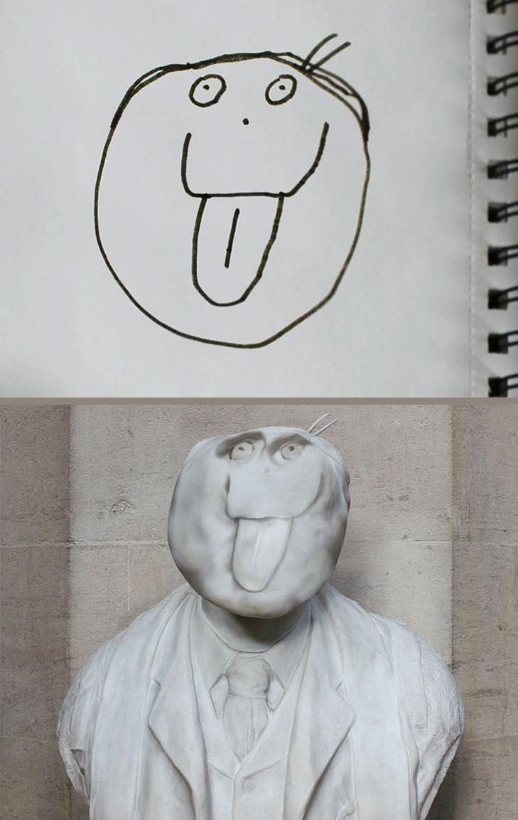 Як будуть виглядати дитячі малюнки, якщо їх оживити - фото 13