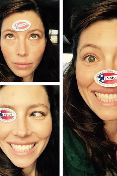 Як голосують американські зірки (ФОТОРЕПОРТАЖ) - фото 2