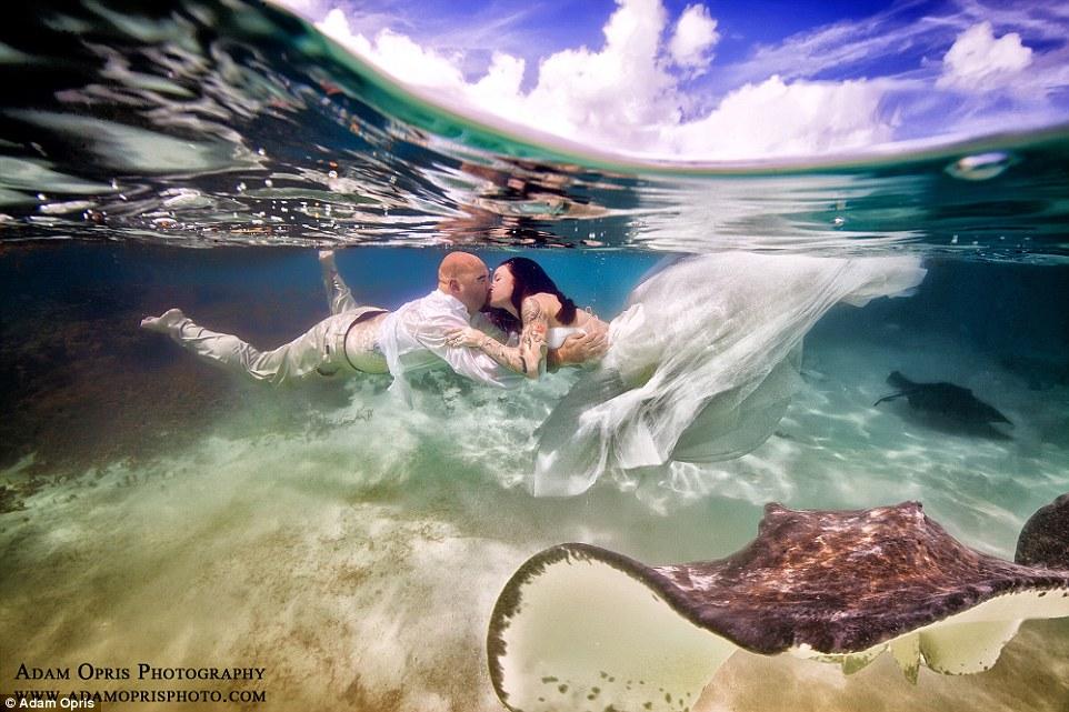 Неймовірні весільні фото під водою, через які хочеться затамувати подих - фото 6