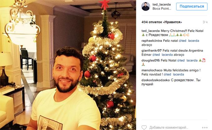 Як легіонери українських клубів вітали з Різдвом у соцмережах - фото 6