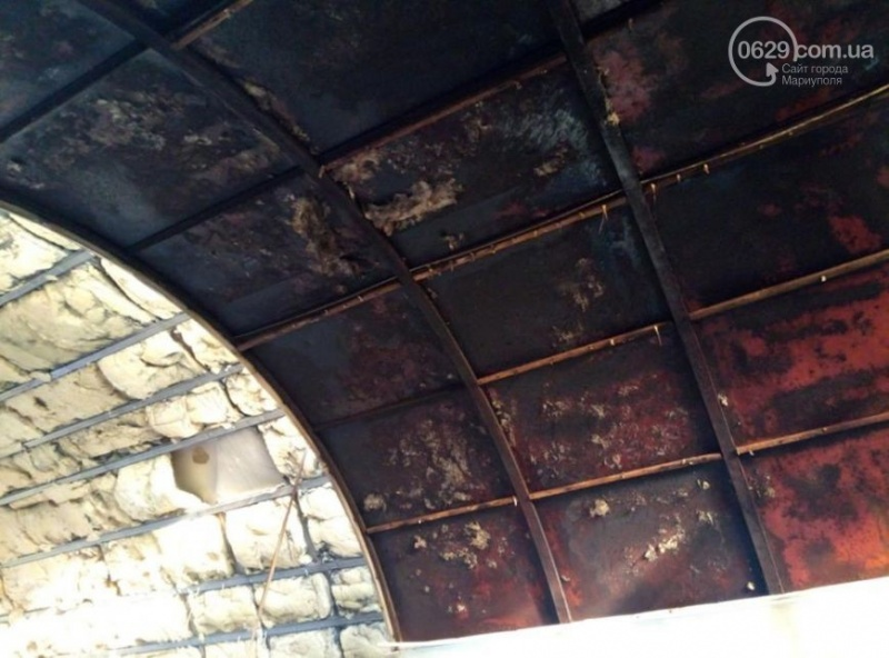 У Маріуполі підпалили церкву Київського патріархату - фото 1