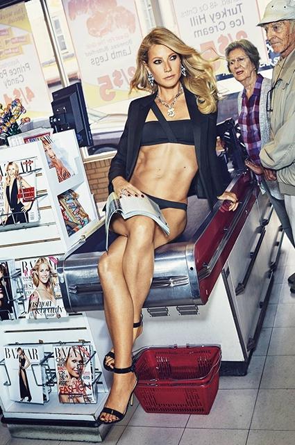 Гвінет Пелтроу засвітила голі сідниці у супермаркеті - фото 3