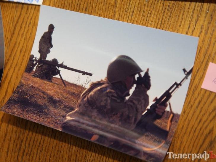 На виставці у Кременчуці оприлюднили особисті фото бійців АТО - фото 1