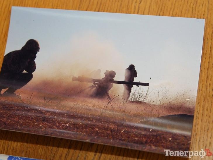 На виставці у Кременчуці оприлюднили особисті фото бійців АТО - фото 2