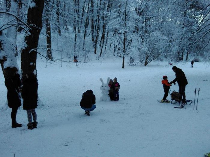 Як львів'яни радіють снігу (ФОТО) - фото 9