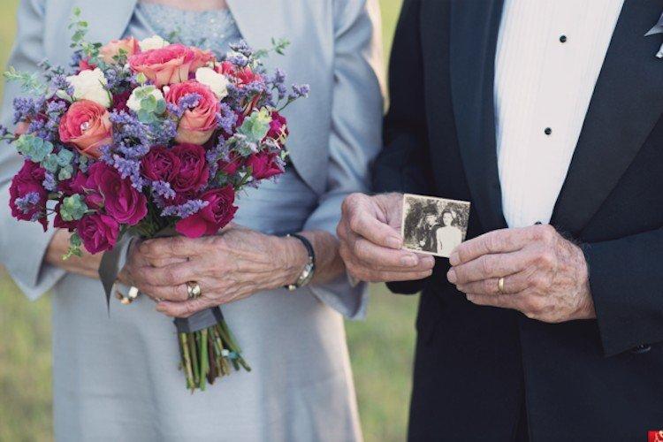 Як зворушливо закохана пара відсвяткувала 70 років весілля - фото 6