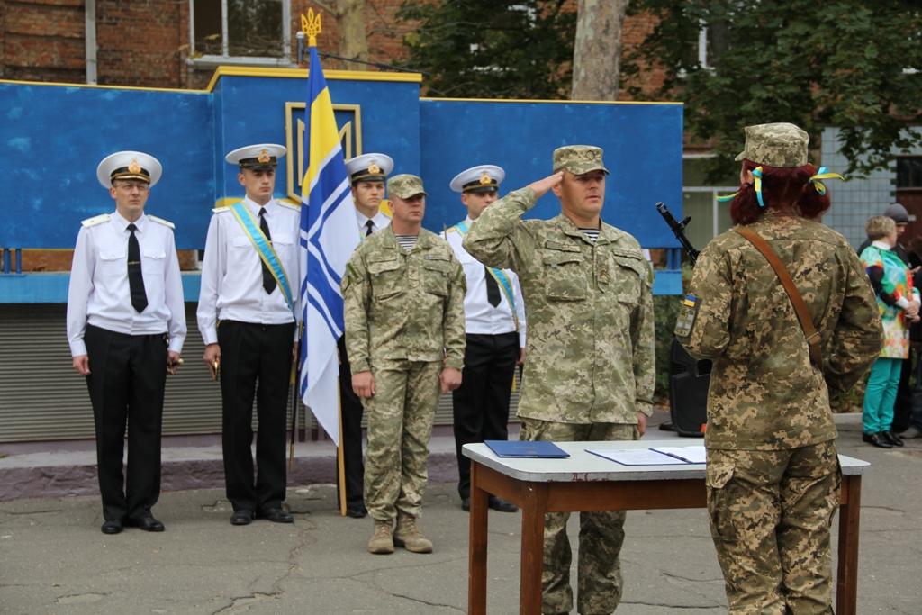 На Миколаївщині більше 60 курсантів ВМС склали присягу