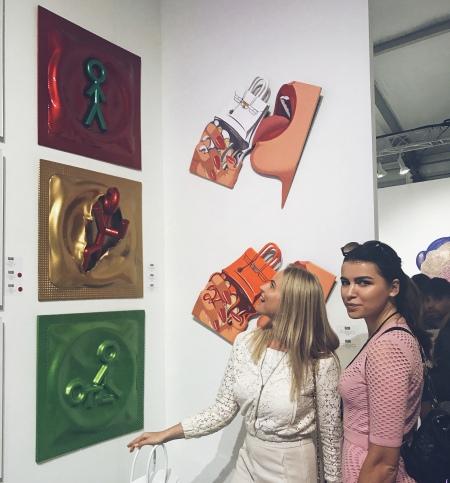 Художниця Lina Condes представила Україну в Маямі - фото 1