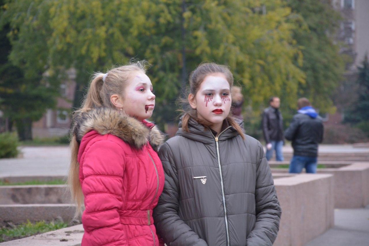 Дуже страшно: Як Миколаїв відзначив Хеллоуїн