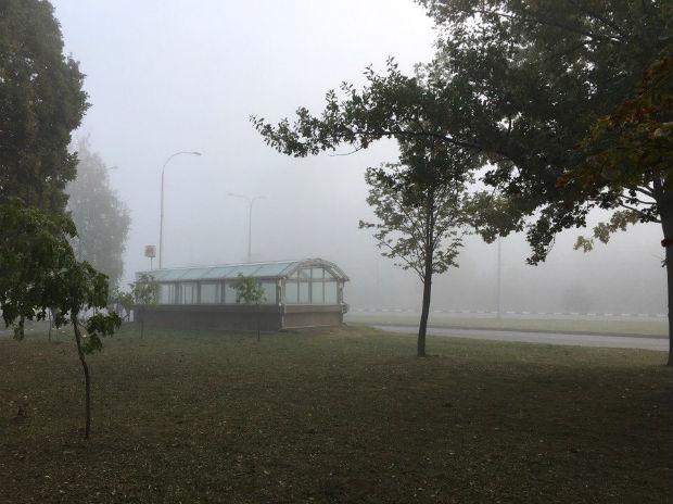 Харків вкрив надзвичайно густий туман - фото 6