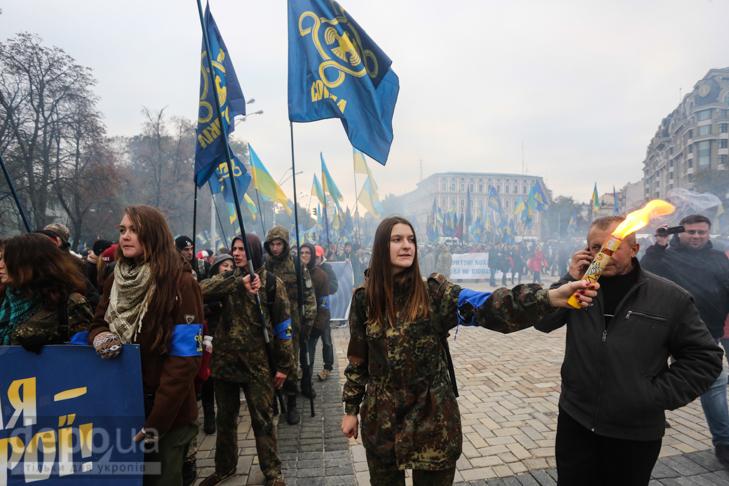 """Як """"Свобода"""" перейняла методи """"Азова """" у піар-акціях - фото 27"""