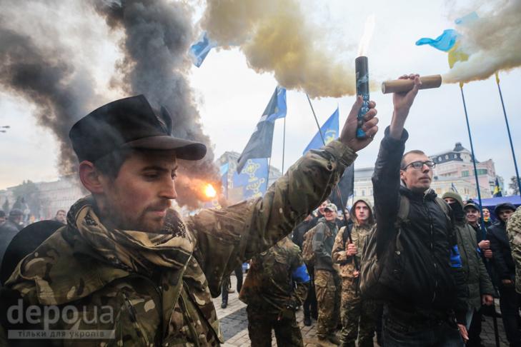 """Як """"Свобода"""" перейняла методи """"Азова """" у піар-акціях - фото 28"""