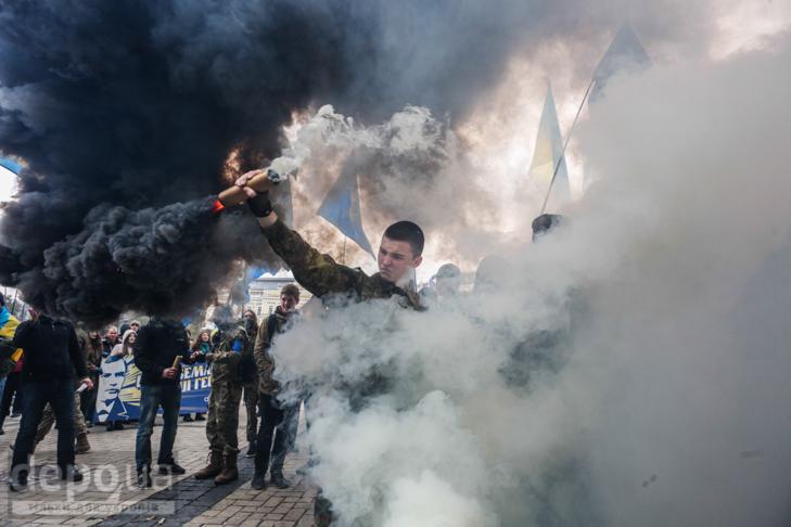 """Як """"Свобода"""" перейняла методи """"Азова """" у піар-акціях - фото 29"""