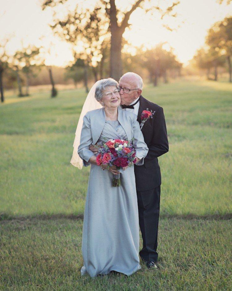 Як зворушливо закохана пара відсвяткувала 70 років весілля - фото 5