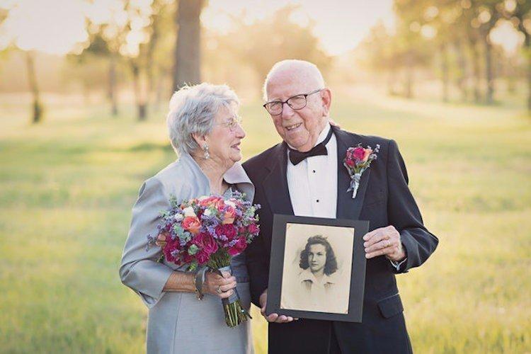 Як зворушливо закохана пара відсвяткувала 70 років весілля - фото 4