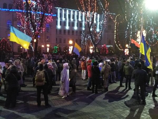 У Дніпрі відбувся смолоскип ний марш на честь Бандери - фото 1