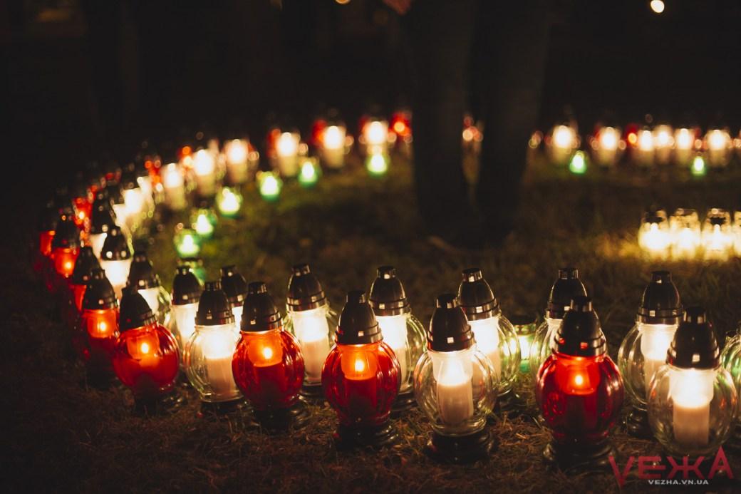 Вінницькі католики запалили свічу памяті на місці поховання тисяч замордованих радянською владою громадян  - фото 3