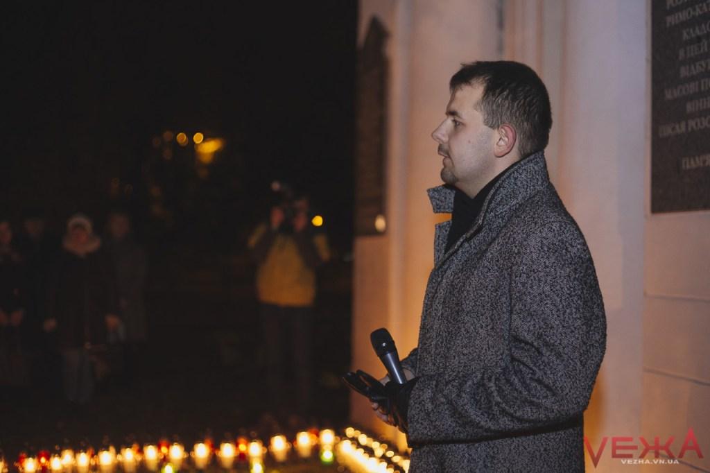 Вінницькі католики запалили свічу памяті на місці поховання тисяч замордованих радянською владою громадян  - фото 2