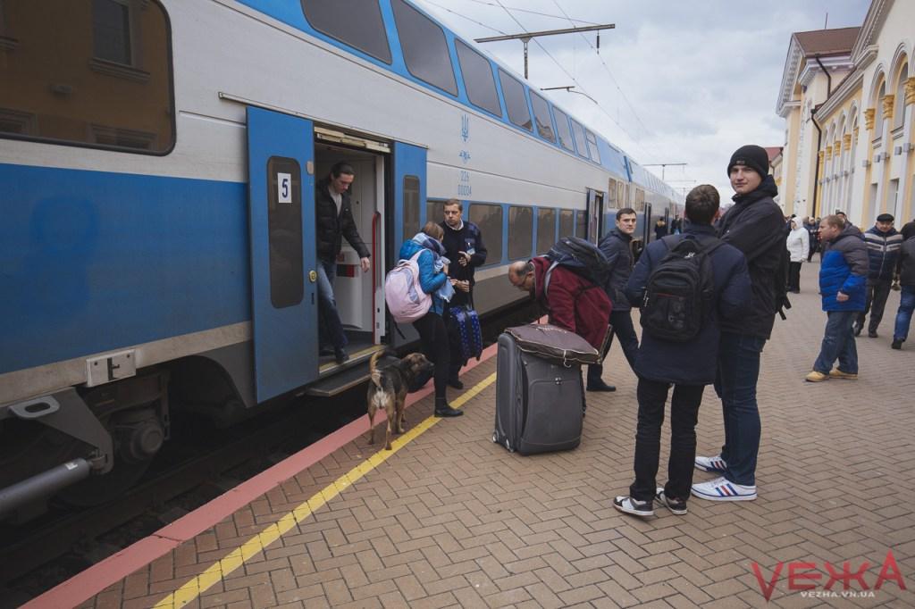 Вінничани прогулялися вагонами двоповерхового поїзда  - фото 3