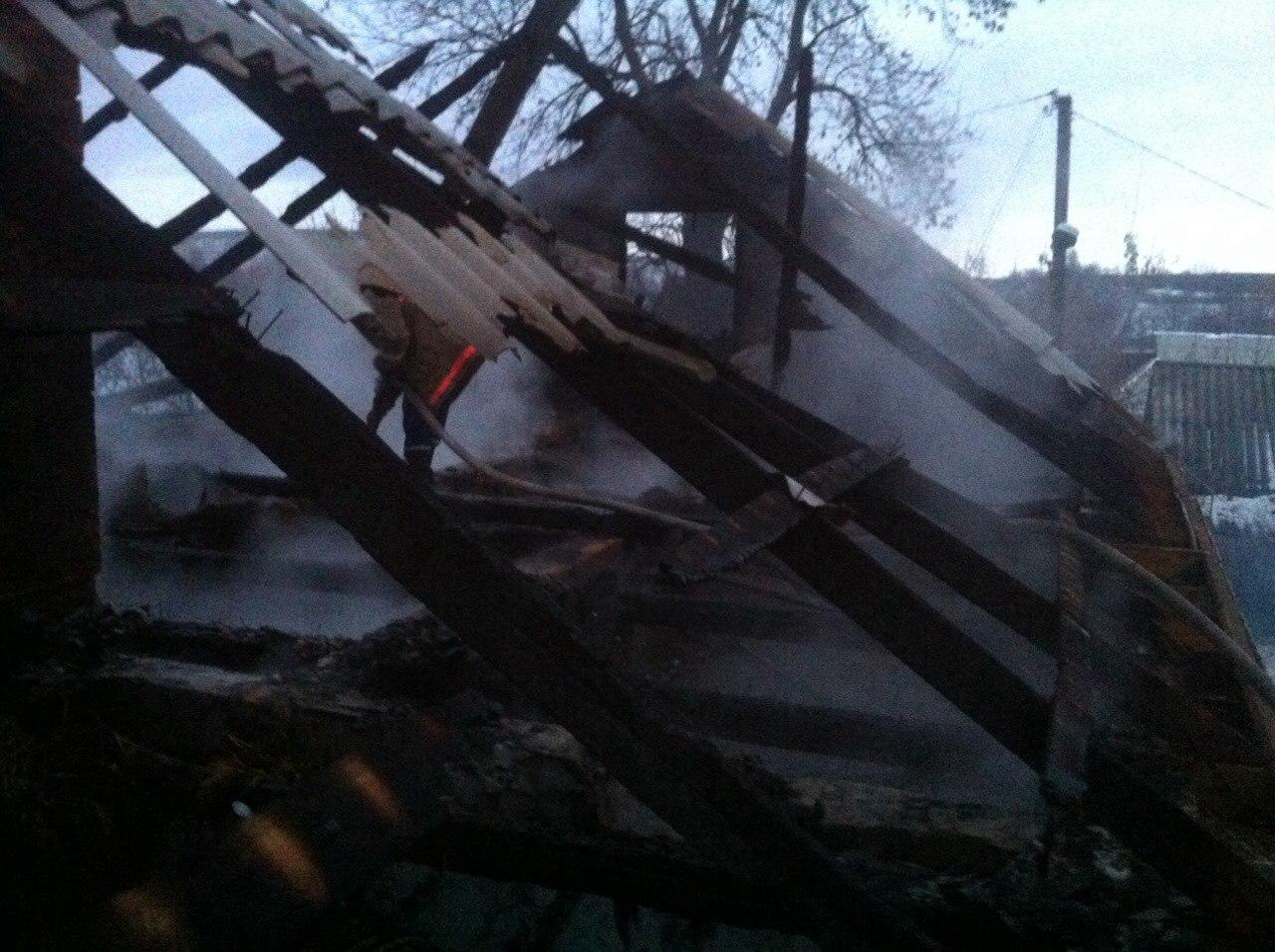 На Вінниччині в сільському дворі згоріли хата, хлів, корови і свині - фото 2