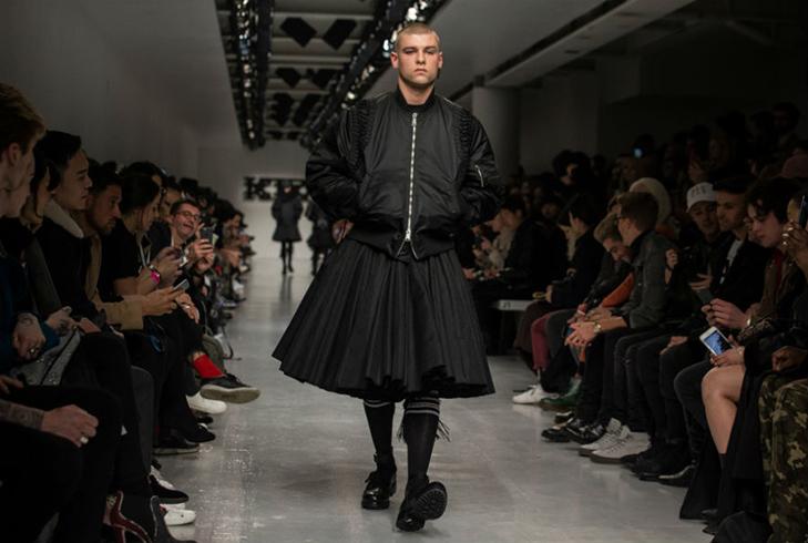 Краще б ми цього не бачили - в Лондоні відбувся Тиждень чоловічої моди - фото 14