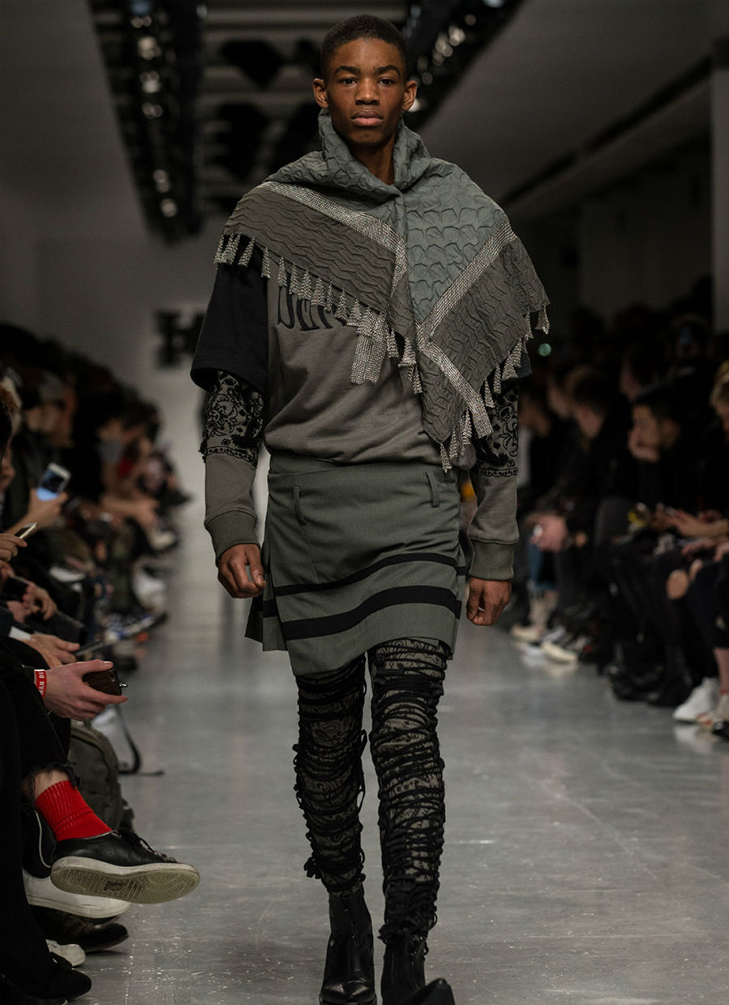Краще б ми цього не бачили - в Лондоні відбувся Тиждень чоловічої моди - фото 13