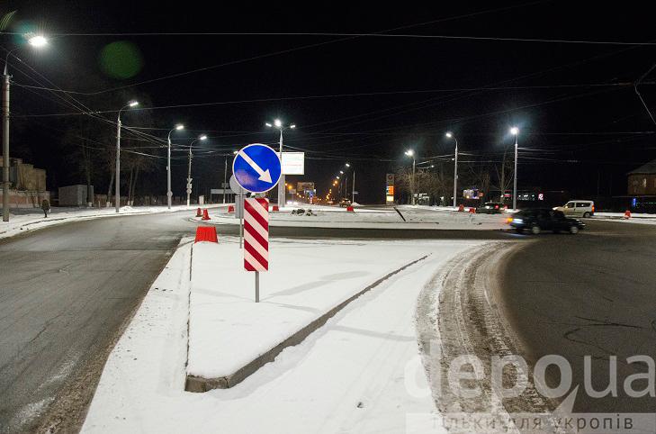 На виїзді з Вінниці облаштували ще один круговий рух  - фото 1