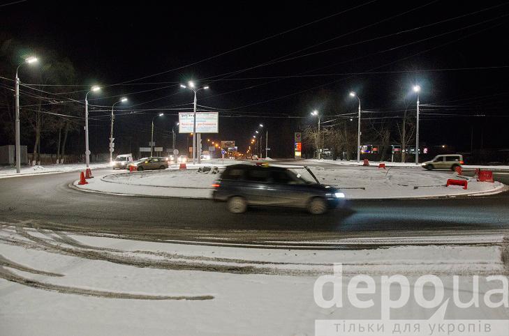 На виїзді з Вінниці облаштували ще один круговий рух  - фото 2