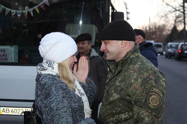 """Бійці батальйону """"Вінниця"""" вирушили в зону АТО  - фото 6"""