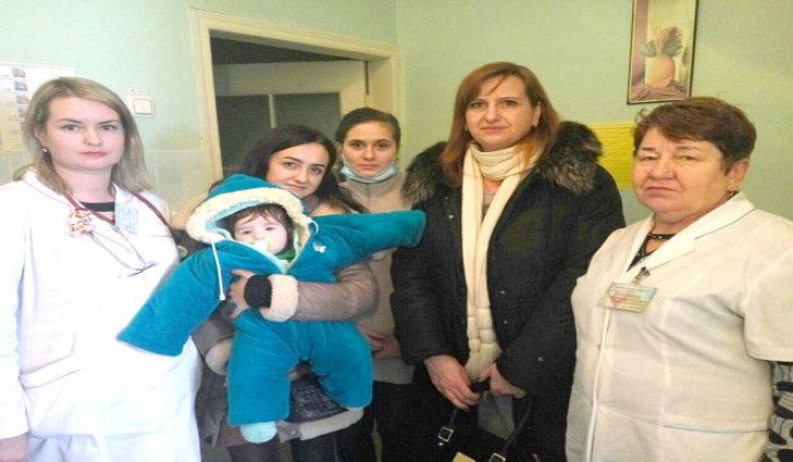 Вдетской клинике Полтавы мать бросила своего 6-месячного ребенка