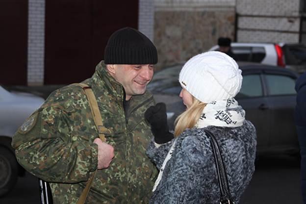 """Бійці батальйону """"Вінниця"""" вирушили в зону АТО  - фото 3"""