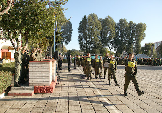 Хмельницькі нацгвардійці виборювали звання кращих в Україні - фото 2