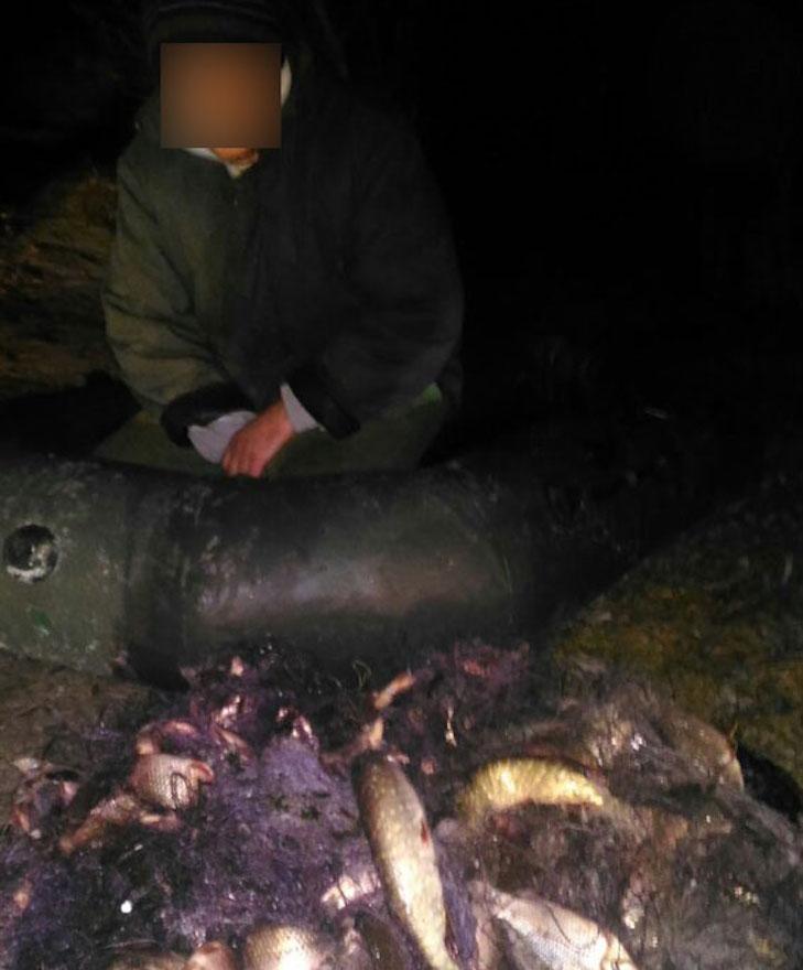 У Кременчуці затримали рибалку з незаконно виловленою рибою - фото 1