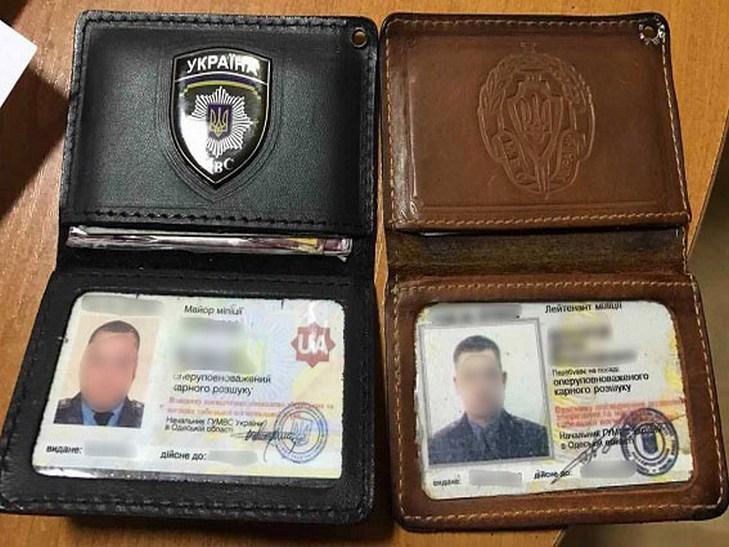 Полицейского задержали навзятке вОдесской области