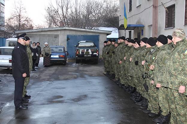 """Бійці батальйону """"Вінниця"""" вирушили в зону АТО  - фото 1"""