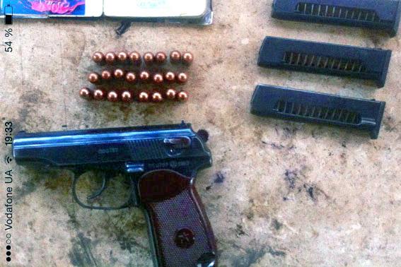 """Бійці батальйону """"Харків"""" в зоні АТО виявили викрадений пістолет - фото 1"""