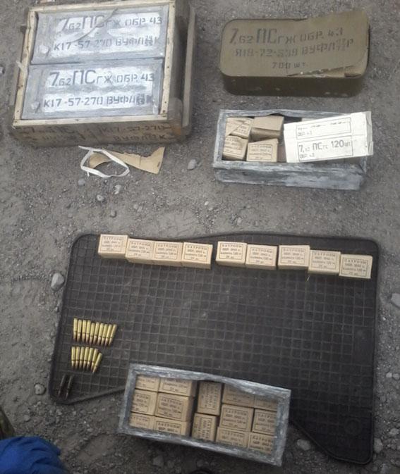 З Донеччини у Миколаїв намагалися привезти більше 3 тисяч патронів