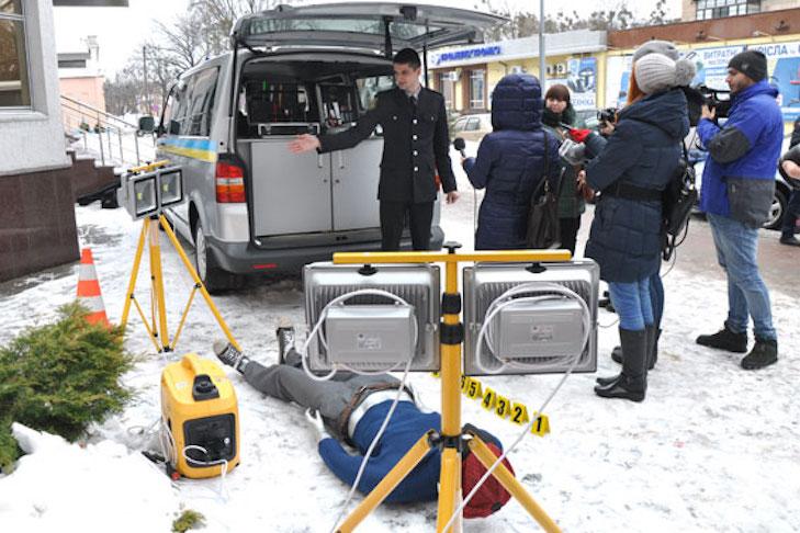 Полтавські поліцейські похизувалися новенькою пересувною лабораторією - фото 3