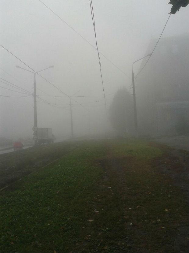 Харків вкрив надзвичайно густий туман - фото 5