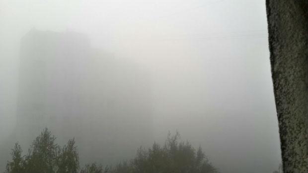 Харків вкрив надзвичайно густий туман - фото 4