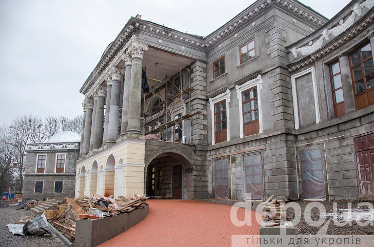 Як на Вінниччині за гроші Євросоюзу реставрують двохсотлітній палац Можайського  - фото 1