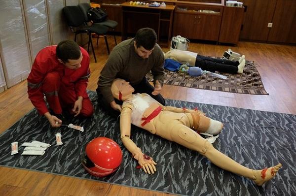 У Дніпрі центру медицини катастроф подарували манекени - фото 2