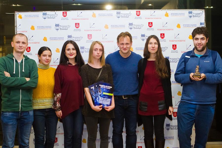 """Відомий телеведучий дав вінницьким студентам майстер-клас зі гри """"Що? Де? Коли?"""" - фото 8"""